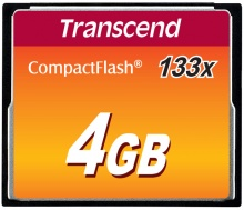 Transcend Compact Flash 4GB 133 x