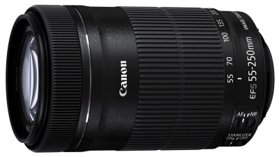 Recenze Canon EF-S 55-250/4-5,6 IS STM