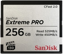 SanDisk Extreme Pro CFAST 2.0 256 GB 525 MB/s VPG130
