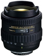 Tokina AT-X 107 10-17mm f/3.5-4.5 DX Fisheye Lens for Canon EF (AT-X 107)