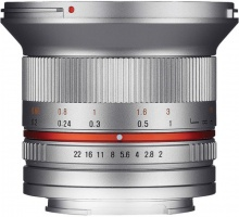 Samyang 12mm F2 NCS CS Sony E (Silver)