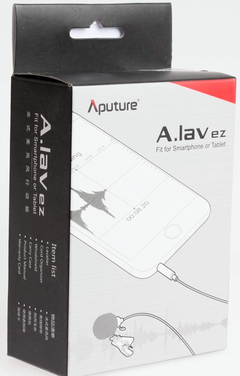 how to use aputure a lav