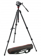 Manfrotto MVH 500AH,755CX3, VIDEO stativ s hlavou 500, SET karbon