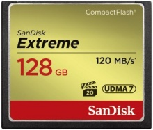 Sandisk Compact Flash 128GB Extreme 120MB/s UDMA7