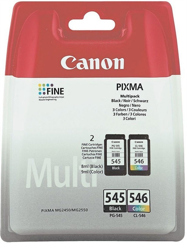 Canon cartridge PG-545/CL-546 Multi pack w/o SEC (PG545/CL546)