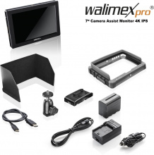 Walimex pro 7″ Camera Assist Monitor 4K IPS Set