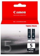 Canon cartridge PGI-5Bk Black TWIN PACK (PGI5BK)