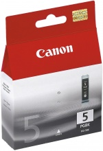 Canon cartridge PGI-5Bk Black, blistr s ochranou (PGI5BK)
