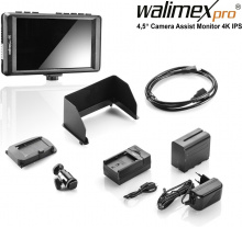 Walimex pro 4,5″ Camera Assist Monitor 4K IPS Set