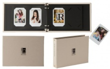 Fujifilm Instax Two Ring album Gold