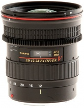 Tokina AT-X 12-28mm f/4 Pro DX V (Video) pro Canon