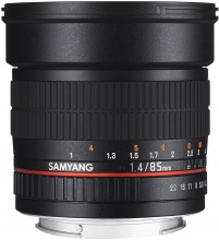 Samyang 85mm f/1,4 Sony E