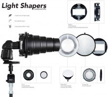 Nissin Light Shaping Kit (upínací mechanismus, komínek, Beauty Dish, Softbox pro Beauty Dish)