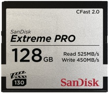 SanDisk Extreme Pro CFAST 2.0 128GB 525 MB/s VPG130