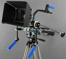 DSLR Video Rig s Matte boxem