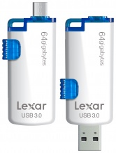 Lexar JumpDrive M20 Mobile USB 3.0 Flash Drive 64GB