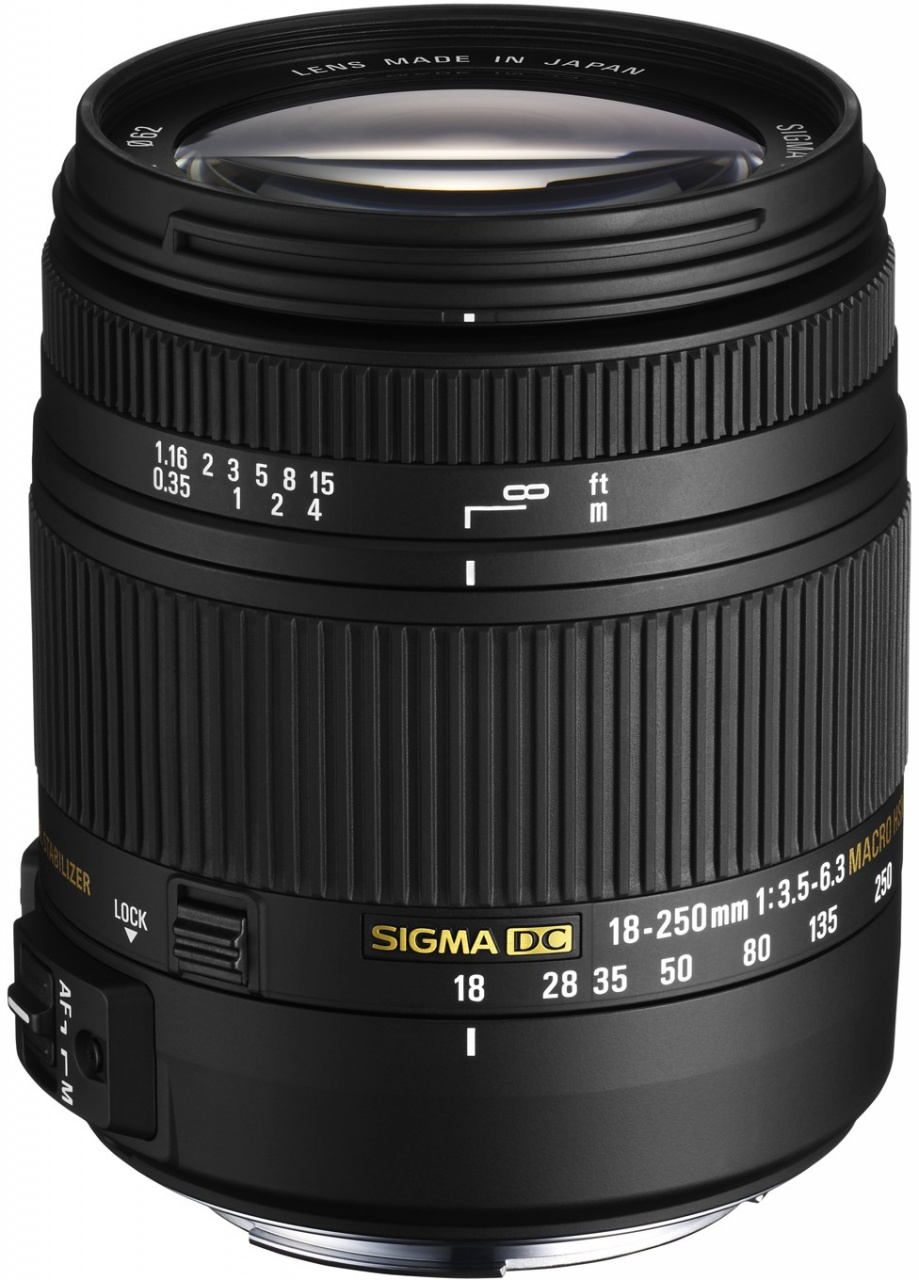 Sigma 18-250mm f/3,5-6,3 DC OS HSM Canon