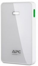 APC Mobile Power Pack, 10.000mAh Li-polymer, bílý