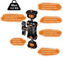 Walimex pro Mini Magic Arm Premium, detail 2