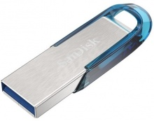 SanDisk Ultra Flair USB 3.0 128GB modrá