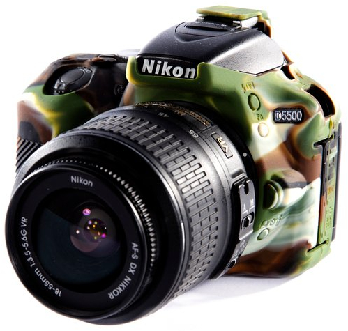 easyCover Nikon D5500, camuflage