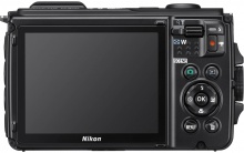 Nikon Coolpix W300, displej