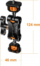 Walimex pro Mini Magic Arm Premium, detail 9