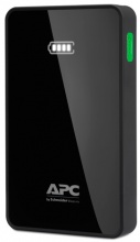 APC Mobile Power Pack, 5000mAh Li-polymer, černý