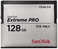 Sandisk Compact Flash Extreme Pro CFAST 2.0 128GB 515 MB/s