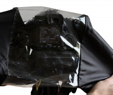 forDSLR Camera Rain Cover, display